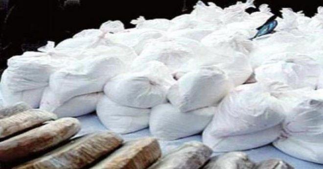 الديستي تقوم بتفكيك عصابة دولية للمخدرات وتحجز طن من الكوكايين