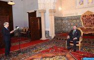 جلالة الملك يستقبل بالحسيمة والي بنك المغرب