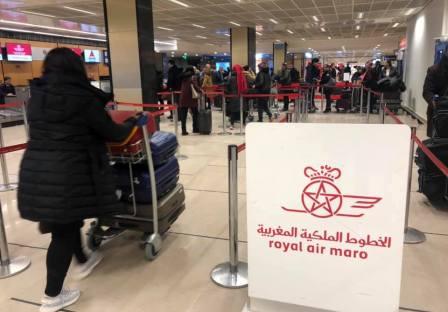 أنباء عن إحباط محاولة تفجير طائرة تابعة للخطوط الملكية المغربية