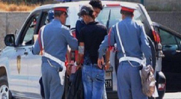 درك سيدي الطيبي يوقف شاحنة رمال وينظم حملة تطهيرية