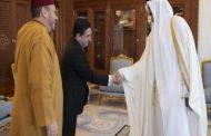 أمير دولة قطر يستقبل مستشار صاحب الجلالة السيد فؤاد عالي الهمة