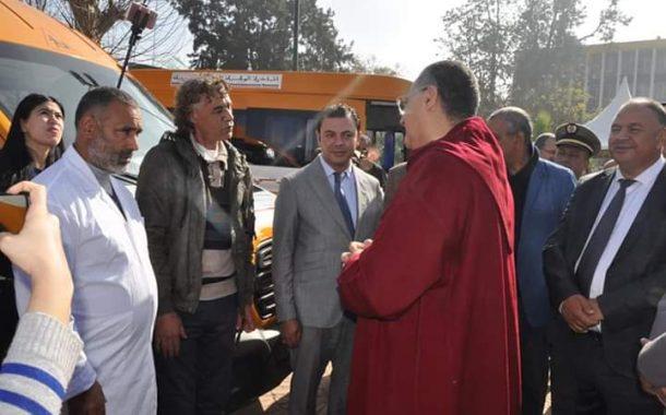 المبادرة الوطنية للتنمية البشرية: تسليم 19 حافلة للنقل المدرسي لجماعات قروية بإقليم القنيطرة