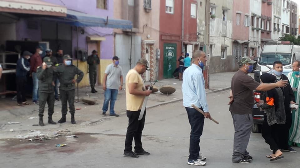 القنيطرة.. استعمال السلاح لتوقيف ستة أشخاص خرقوا الطوارئ وعرضوا عناصر الشرطة لتهديد خطير